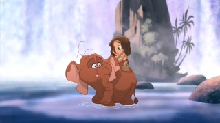 "Tarzan and Tantor go for a none-too-satisfying ride, as do viewers, in ""Tarzan II."""