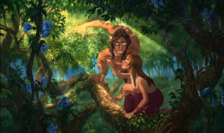 "Tarzan and Jane, the stars of ""Tarzan & Jane."""