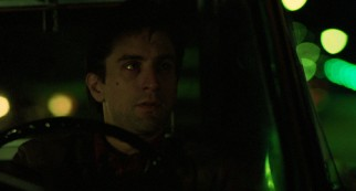 "Robert De Niro earned his second Academy Award nomination playing introverted insomniac cabbie Travis Bickle, the antihero of Martin Scorsese's ""Taxi Driver."""