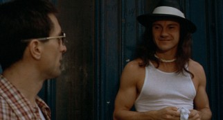 "Harvey Keitel embodies evil, playing long-haired, long-pinky-nailed pimp Matthew, a.k.a. ""Sport."""