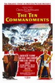The Ten Commandments (1956) movie poster