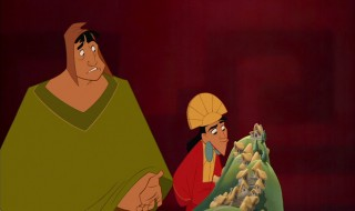 Kuzco reveals his plans for Kuzcotopia to an understandably upset Pacha.