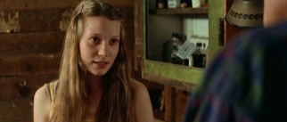 Sixteen-year-old daughter Pamela (Mia Wasikowska) is the only member of the Choat family who approaches Abner kindly.
