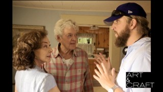"Helmer Scott Teems directs Dixie Carter and Hal Holbrook for their flashback scenes, as if they don't know how to be husband and wife. This still comes from the ""Art & Craft"" podcast, whose visuals remain secondary to its audio."