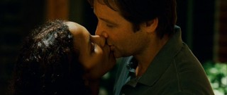 Audrey (Halle Berry) and Brian (David Duchovny) swoon for the last time.