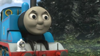 Repeating his mantra that he makes good decisions, Thomas cheerily tries to find his way off Misty Island without the help of the Logging Locos.