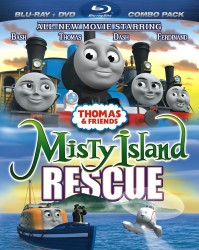 Thomas & Friends: Misty Island Rescue Blu-ray + DVD cover art -- click to buy combo pack from Amazon.com