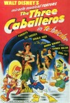 The Three Caballeros movie poster