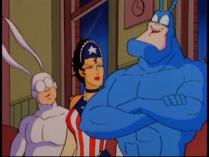 The Tick's closing thoughts leave Arthur and American Maid perplexed. Let's hope mine don't leave you the same way.