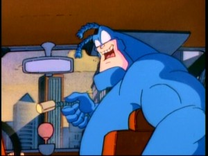 "The Tick is oh-so-excited to have a cameraman along for patrol time in the episode that parodies Fox's ""Cops."""