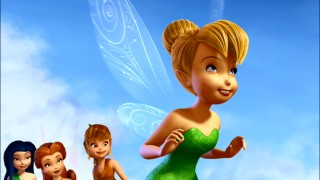 With her friends and their encouragement behind her, Tinker Bell seeks to take flight.