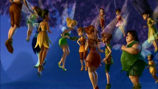The fairies of Pixie Hollow come together in the sky to listen to Tink's plan to save spring.