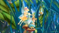 Fairies need one another's help to wash their wings. That's one of the facts Tink and Queen Clarion share in the Magical Guide to Pixie Hollow.