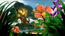 The enchanting Tinker Bell DVD main menu.