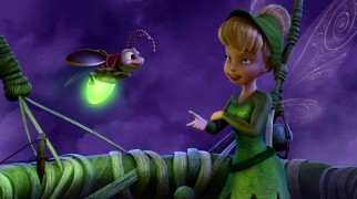 Tinker Bell makes a useful friend in Blaze, a tiny fly with a bright green light in his bottom.