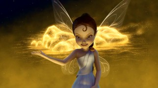 Receiving more screentime than the core supporting Disney Fairies, storyteller Lyria puts on a dazzling show that inspires Tinker Bell to make her journey.