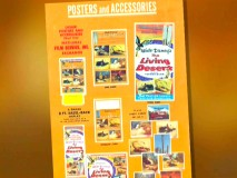 "A variety of Posters and Accessories of ""The Living Desert"" are seen in this guide for exhibitors."