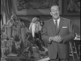 "Walt Disney appears briefly amidst Disneyland models in the featurette ""Collectors' Corner."" He also shows up on Volume 3 at the beginning of the two ""Disneyland"" episodes."