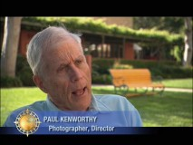 "Paul Kenworthy is one of several interviewees in ""Filmmakers' Journal."""
