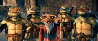 "After fourteen years off the big screen, Michelangelo, Donatello, Splinter, Leonardo, and Raphael returned in this year's computer-animated ""TMNT."""