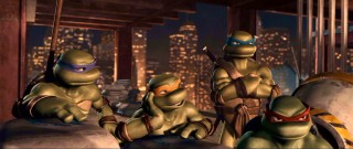 The Turtles collaborate high above New York City. Cowabunga!