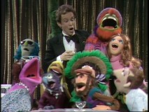 Joel Grey transforms the Muppet Show Theatre into a cabaret, cabaret, cabaret.
