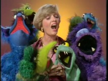 "Florence Henderson is so ""Happy Together"" with the Muppets."