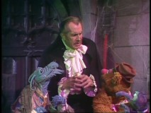 "An appearance by Vincent Price ensures a spookier than usual ""Muppet Show."""