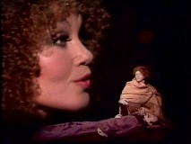 "With Cleo Laine's face sharing the screen only with a dramatic pair of marionettes, you've got to think ""This is one of the weirder Muppet Show episodes I've seen."""