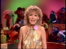 "In her colorful finale, Petula Clark performs a song from ""Annie"" in front of a dozen Muppets."
