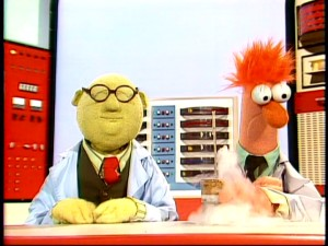 Muppet Labs doctor Bunsen Honeydew is joined in Season 2 by the humorously mute assistant Beaker.