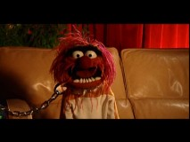 "Animal is among those answering tongue-in-cheek interview questions in ""The Muppets on The Muppets."""