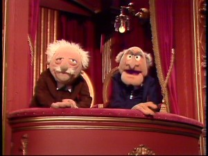 Waldorf: You know, they're calling this review a runaway hit. Statler: Yeah, whenever it loads, you wanna run away from the computer!