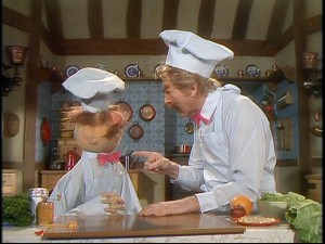 Danny Kaye plays the Swedish Chef's uncle in this sketch from the middle of Season 3.