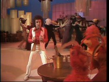 Disco may be dead but disco with creepy bird people never goes out of style.