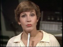 Helen Reddy is distracted in the recording studio by Animal's ferocious drumming.