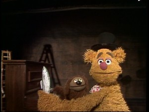 "Fozzie and Rowlf sing Pinocchio's ""Hi-Diddle-Dee-Dee (An Actor's Life for Me)"" and make their classic ""halibut"" joke."