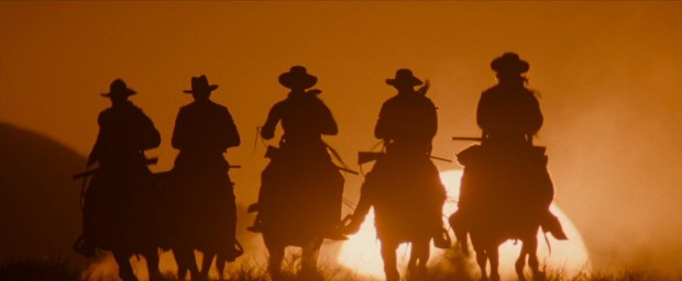 Wyatt Earp and his followers ride off into the sunset, fighting for justice wherever they go.