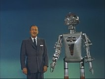 "Walt and Garco the Robot introduce ""Mars and Beyond"""