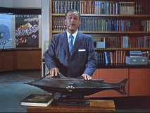 "Walt with the Nautilus in ""Our Friend the Atom"""