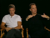 "Tim Allen and Tom Hanks banter as to who voices the more awesome character in ""Who's the Coolest Toy?"""