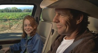 Annie gets to experience wine country with her father (Dennis Quaid).