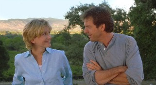 Natasha Richardson gets the pleasure of hearing Dennis Quaid's Cary Grant impression in this scene.