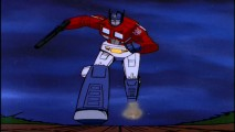 "Excerpts of the 1980s ""Transformers"" cartoon series are included in ""Their War"" featurettes."