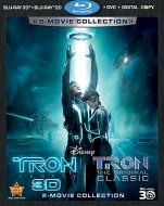 Tron: Legacy & Tron: 2-Movie Collection Blu-ray 3D + Blu-ray 2D + DVD + Digital Copy -- click to buy from Amazon.com