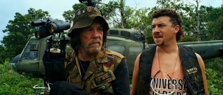 Grizzled, hook-handed veteran Four Leaf Tayback (Nick Nolte) listens to the chatter of pyromaniac explosives man Cody (Danny McBride).