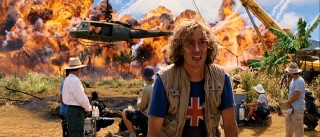 When staging a jungle explosion of this size, it's probably a good idea to have the director (Steve Coogan) looking in the right direction and, I don't know, the cameras rolling?