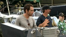 "Like Mel Gibson on ""Braveheart"", Ben Stiller commands authority on both sides of the camera as the star and director of ""Tropic Thunder"", a fact illustrated here in his Cast short."