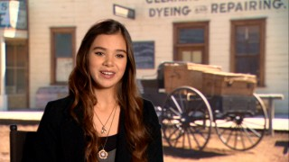 "Looking more contemporary out of her pigtails, Hailee Steinfeld discusses auditioning for her breakthrough role and working with the Coens in ""Mattie's True Grit."""