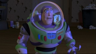 A television commercial provides a heartbreaking revelation for Buzz Lightyear.
